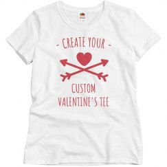 Create Your Custom Valentine's Day T-Shirt