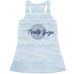 Blue Truly Yoga Tank