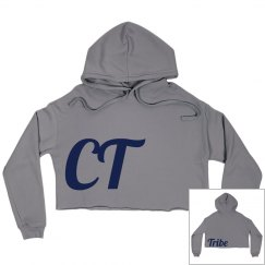 CT Tribe cropped hoodie