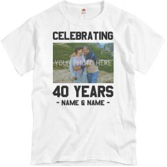 Custom Anniversary Shirts For Group