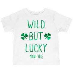 Green Metallic Wild but Lucky
