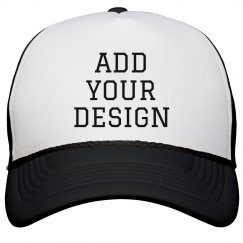 Personalized Message on a Custom Cap