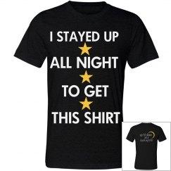 Up 'til Dawn Event Shirt