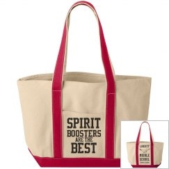 Spirit Boosters are the Best: Double-Sided Tote