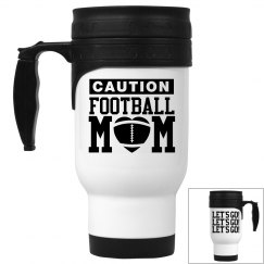Funny Football Mom LET'S GO! Coffee Mug