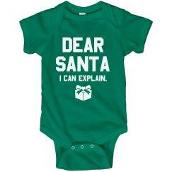 Funny Christmas Baby Bodysuit Gift
