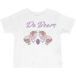 Unicorn Teddy Bear Matching Shirt