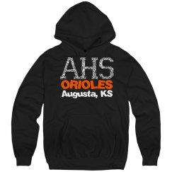 AHS Orioles Zebra Sweatshirt
