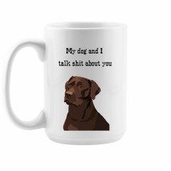 Labrador Dog Mom Mug
