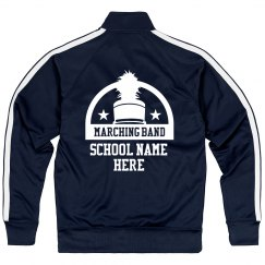 Marching Band Striped Sleeve Jacket