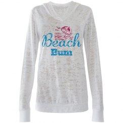 Beach Bum Hoodie/ Cover Up