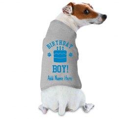 Custom Dog Birthday Boy