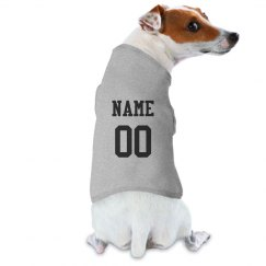 Custom Name Number Dog Athlete
