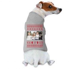 Custom Family Photo Dog Ugly Sweater