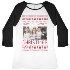 Custom Family Upload Ugly Sweater