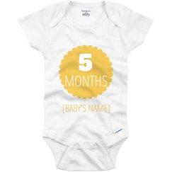 5 Month Marker