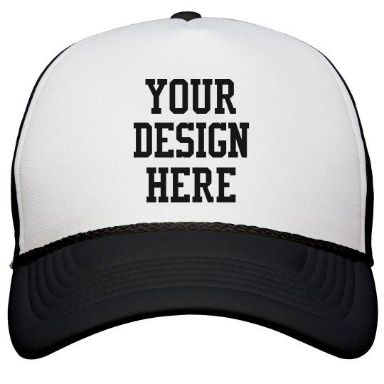 Design a Sports Cap for Baseball Snapback Trucker Hat 5b8120509de