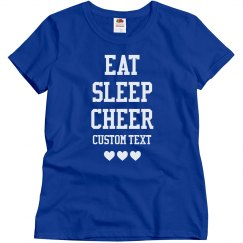 Custom Eat Sleep Cheer