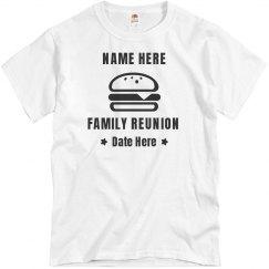 Burger Graphic Family Reunion