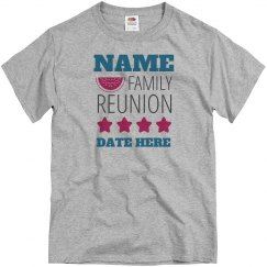 Custom Family Reunion Tee