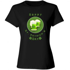 Green Beer Happy St. Patrick's Day Party Shirt