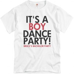 It's a Boy Dance Party!