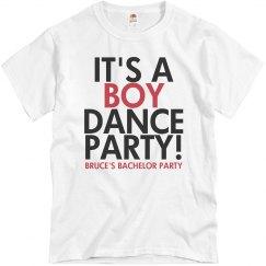 It's a Boy Dance Party!