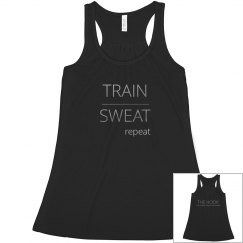 TRAIN SWEAT REPEAT TANK