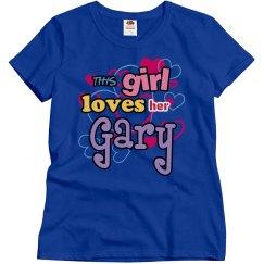 This girl loves Gary!