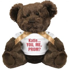Brown Prom Bear