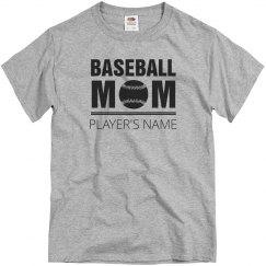 Simple Custom Baseball Mom
