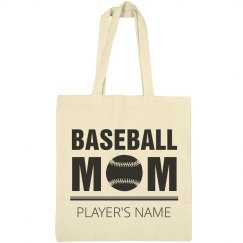 Cute Custom Baseball Mom