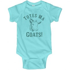 Totes Ma Goats Baby Onesie Gift