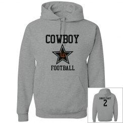 Men's Cowboy Hoodie