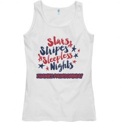 Women's 4th of July Painsomnia Tank Top