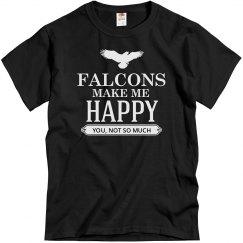 Falcons make me happy