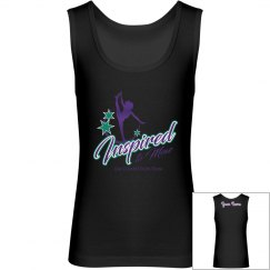 Girls i2m Competition Dance Team Logo Tank
