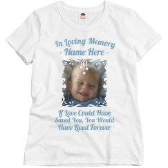 In Loving Memory Infant