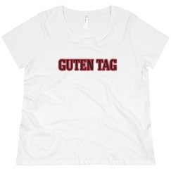 Guten Tag Tee Red