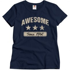 Awesome since 1960