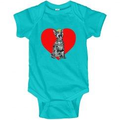 Kitty Heart Infant