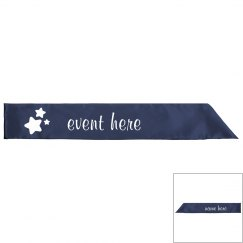 Make Your Event Sash