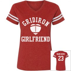 Custom Sporty Football Girlfriend Shirts