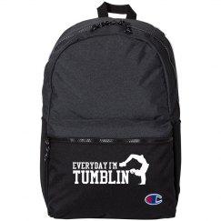 Funny Tumbling Gymnastics Bag