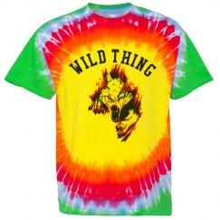 WILD THING Bullseye Tie-Dye Tee