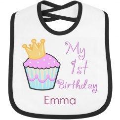 1st Birthday Pink Cupcake