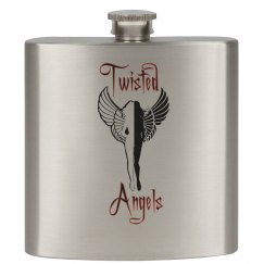Twisted Angels Flask