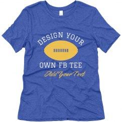 Design Your Custom Football Top