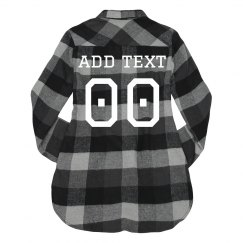 Custom Football Fashion Flannel