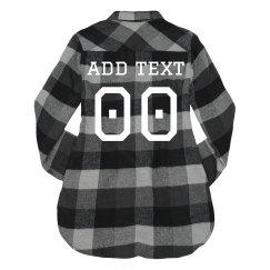 Custom Football Fashion Flannel